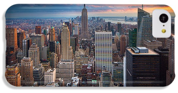 New York New York IPhone 5c Case by Inge Johnsson
