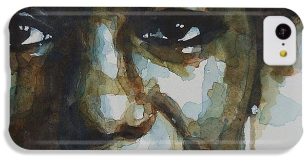 Nina Simone IPhone 5c Case by Paul Lovering