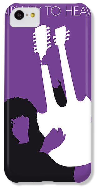 No011 My Led Zeppelin Minimal Music Poster IPhone 5c Case by Chungkong Art