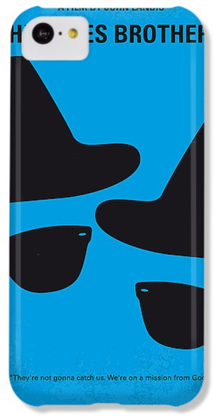 No012 My Blues Brother Minimal Movie Poster IPhone 5c Case by Chungkong Art
