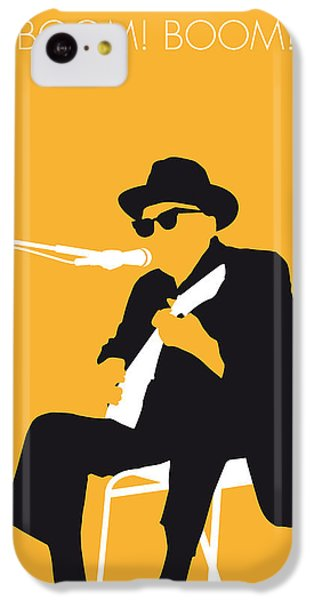 No054 My Johnny Lee Hooker Minimal Music Poster IPhone 5c Case by Chungkong Art