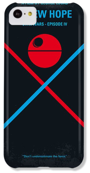 No154 My Star Wars Episode Iv A New Hope Minimal Movie Poster IPhone 5c Case by Chungkong Art