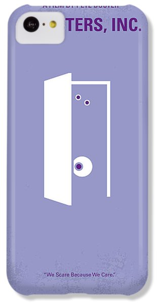No161 My Monster Inc Minimal Movie Poster IPhone 5c Case by Chungkong Art