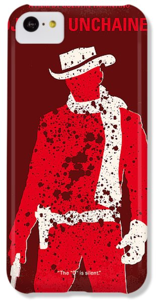 No184 My Django Unchained Minimal Movie Poster IPhone 5c Case by Chungkong Art