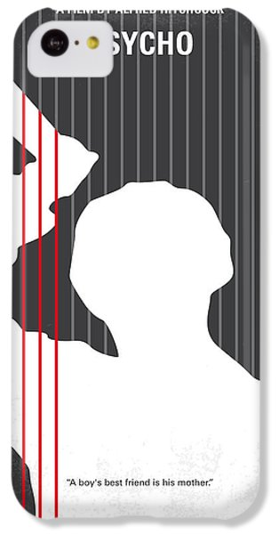 No185 My Psycho Minimal Movie Poster IPhone 5c Case by Chungkong Art