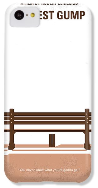 No193 My Forrest Gump Minimal Movie Poster IPhone 5c Case by Chungkong Art