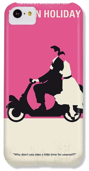 No205 My Roman Holiday Minimal Movie Poster IPhone 5c Case by Chungkong Art