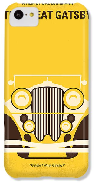 No206 My The Great Gatsby Minimal Movie Poster IPhone 5c Case by Chungkong Art