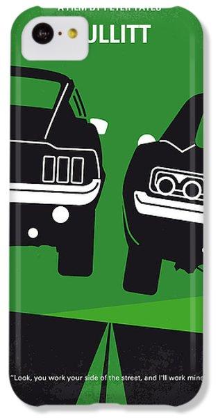 No214 My Bullitt Minimal Movie Poster IPhone 5c Case by Chungkong Art