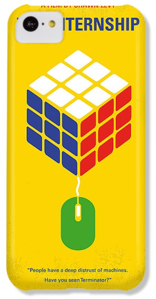 No215 My The Internship Minimal Movie Poster IPhone 5c Case by Chungkong Art