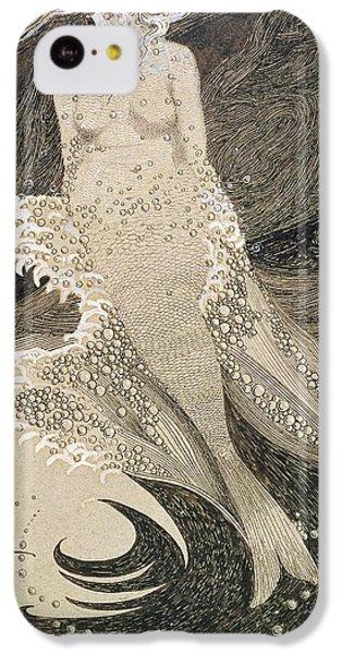 The Mermaid IPhone 5c Case by Sidney Herbert Sime