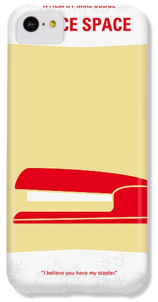 No255 My Office Space Minimal Movie Poster IPhone 5c Case by Chungkong Art
