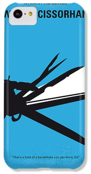 No260 My Scissorhands Minimal Movie Poster IPhone 5c Case by Chungkong Art