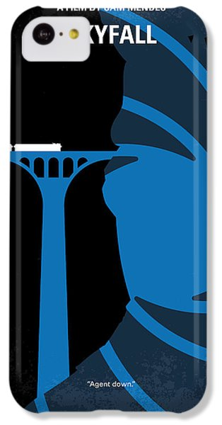 No277-007-2 My Skyfall Minimal Movie Poster IPhone 5c Case by Chungkong Art