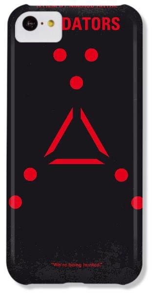 No289 My Predators Minimal Movie Poster IPhone 5c Case by Chungkong Art