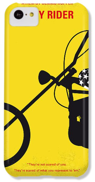 No333 My Easy Rider Minimal Movie Poster IPhone 5c Case by Chungkong Art