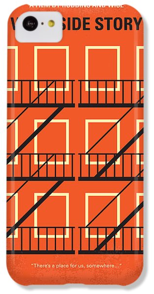 No387 My West Side Story Minimal Movie Poster IPhone 5c Case by Chungkong Art