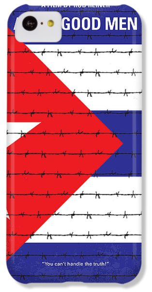 No417 My A Few Good Men Minimal Movie Poster IPhone 5c Case by Chungkong Art