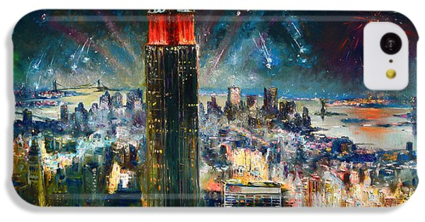 Nyc In Fourth Of July Independence Day IPhone 5c Case by Ylli Haruni