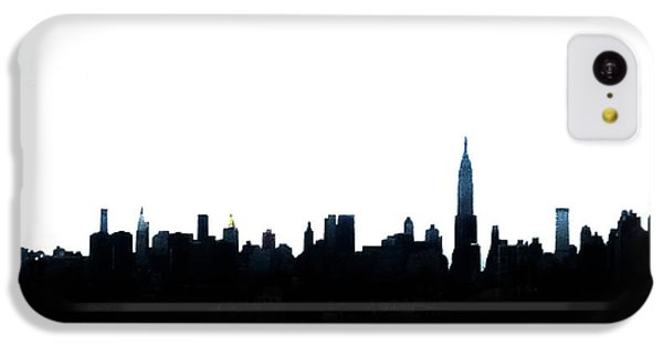 Nyc Silhouette IPhone 5c Case by Natasha Marco