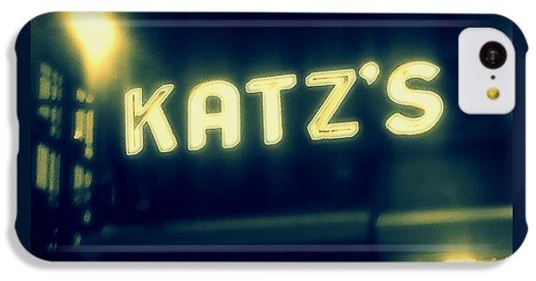 Nyc's Famous Katz's Deli IPhone 5c Case by Paulo Guimaraes