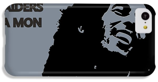 Oakland Raiders Ya Mon IPhone 5c Case by Joe Hamilton