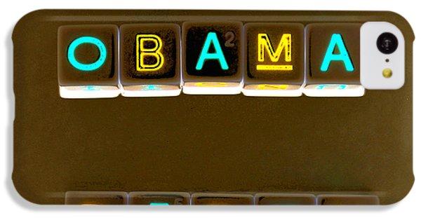 Obama Biden Words. IPhone 5c Case by Oscar Williams