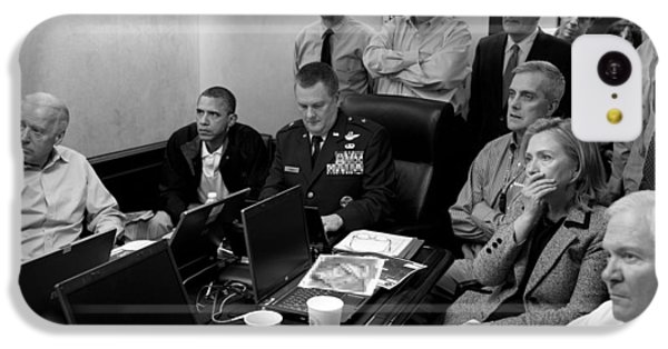 Obama In White House Situation Room IPhone 5c Case by War Is Hell Store