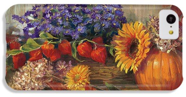 October Still Life IPhone 5c Case by Carol Rowan