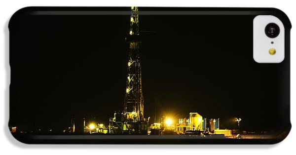 Oil Rig IPhone 5c Case by Jeff Swan