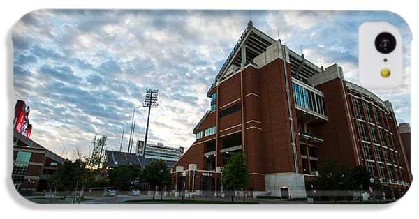 Oklahoma Memorial Stadium IPhone 5c Case by Nathan Hillis