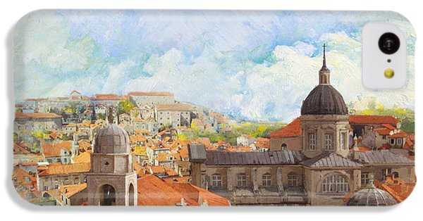 Old City Of Dubrovnik IPhone 5c Case by Catf