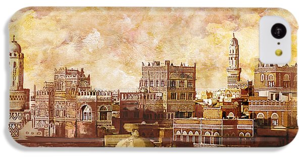 Old City Of Sanaa IPhone 5c Case by Catf