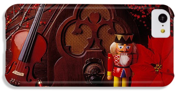 Old Raido And Christmas Nutcracker IPhone 5c Case by Garry Gay