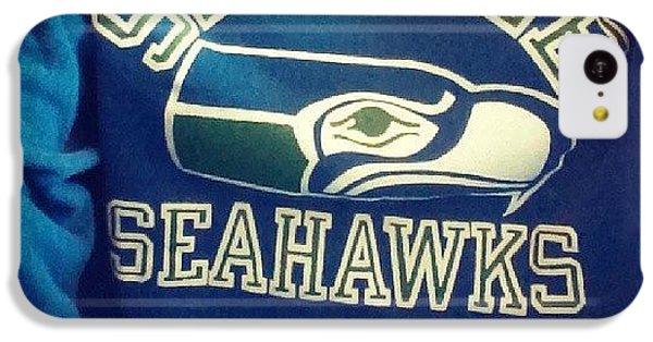 Old Skool #seahawks #206ickness IPhone 5c Case by Jamie Miles