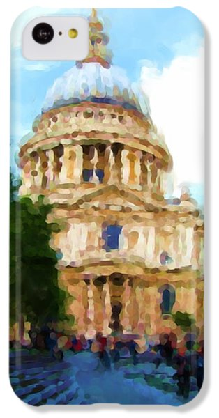 On The Steps Of Saint Pauls IPhone 5c Case by Jenny Armitage