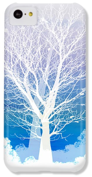 Once Upon A Moon Lit Night... IPhone 5c Case by Holly Kempe
