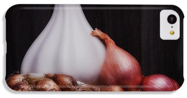 Onions IPhone 5c Case by Tom Mc Nemar