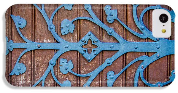 Ornate Church Door Hinge IPhone 5c Case by Mr Doomits