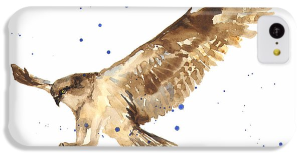 Osprey Painting IPhone 5c Case by Alison Fennell