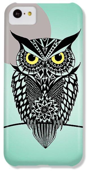 Owl 5 IPhone 5c Case by Mark Ashkenazi