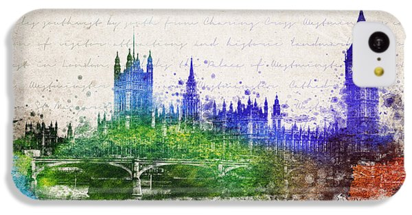 Palace Of Westminster IPhone 5c Case by Aged Pixel