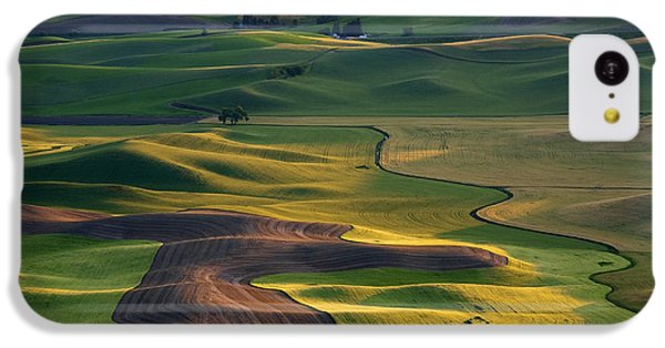 Palouse Shadows IPhone 5c Case by Mike  Dawson