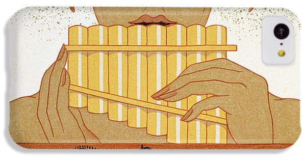 Pan Piper IPhone 5c Case by Georges Barbier