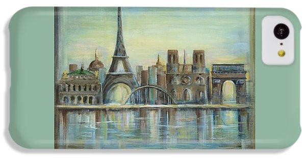 Paris Highlights IPhone 5c Case by Marilyn Dunlap