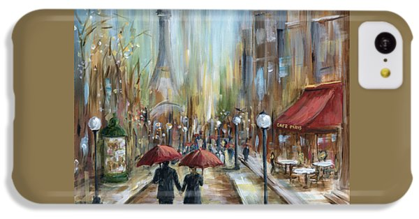 Paris Lovers Ill IPhone 5c Case by Marilyn Dunlap
