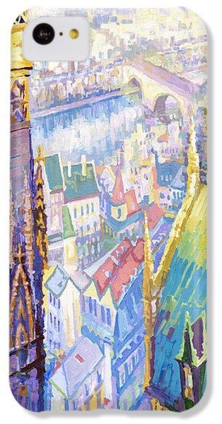 Paris Shadow Notre Dame De Paris IPhone 5c Case by Yuriy  Shevchuk