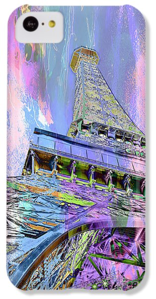 Pastel Tower IPhone 5c Case by Az Jackson
