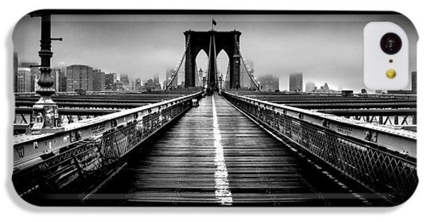 Path To The Big Apple IPhone 5c Case by Az Jackson