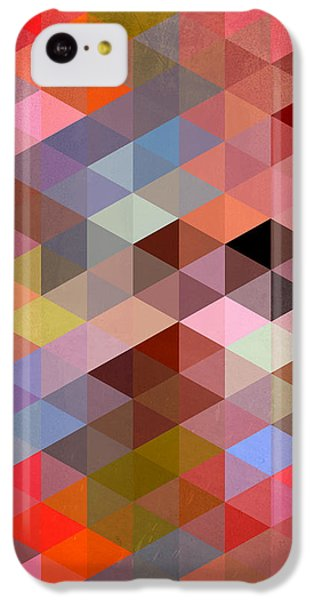 Pattern Of Triangle IPhone 5c Case by Mark Ashkenazi